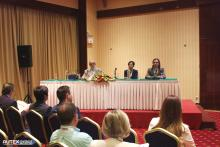 Prof. S.Vasileisadis, Prof.. K.Grabowska, Prof. G.Priniotakis