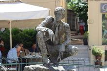 Statue in the city