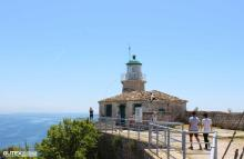 Lighthouse at the top of the fortress