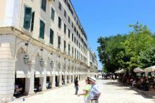 Corfu Esplanade square