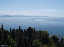Sea view from Corfu Holiday Palace Hotel
